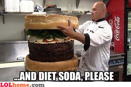 Diet, sure, sure!