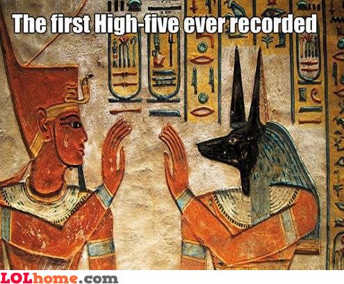 First Highfive