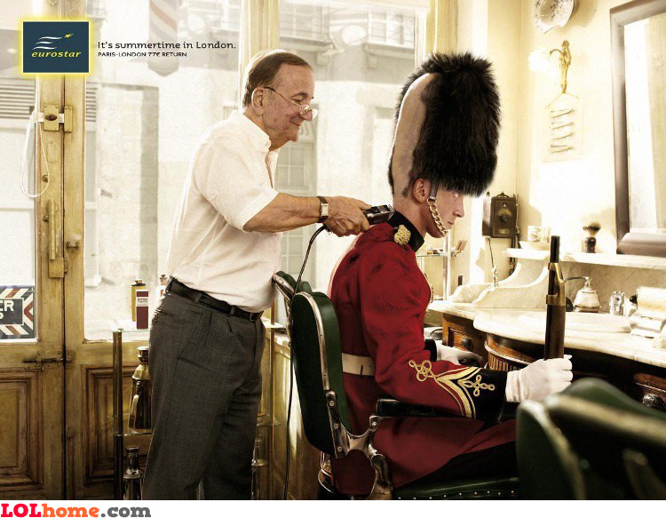 What a haircut...