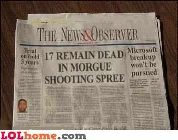 17 remain dead