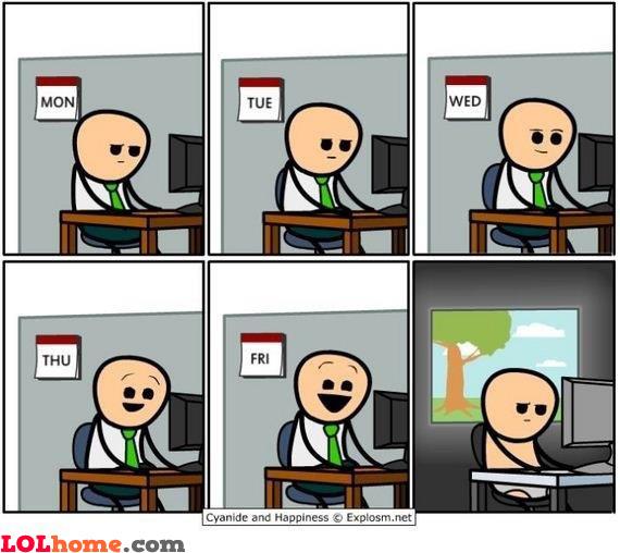 Week at office