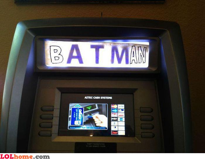 Batman ATM
