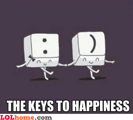 Keys two happiness