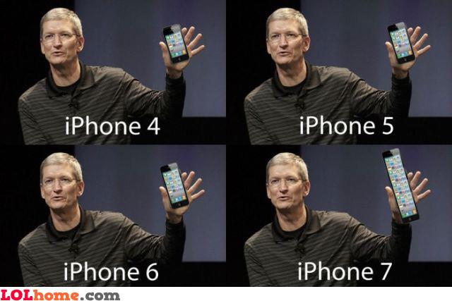 iPhone versions