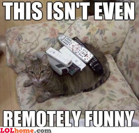 Remotely funny