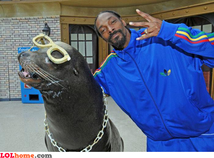 Snoop Dogg and his friend