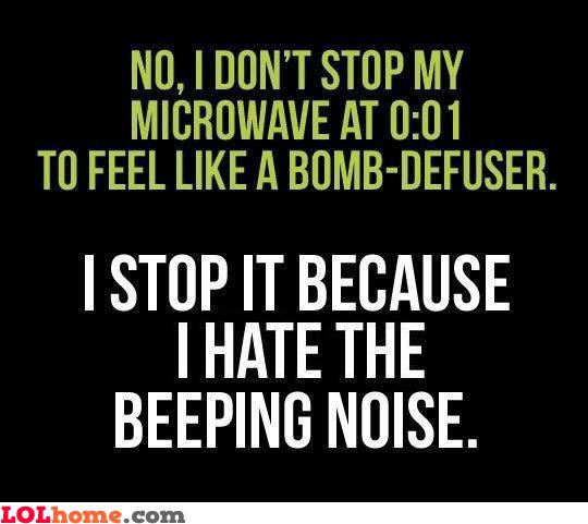 Microwave fact
