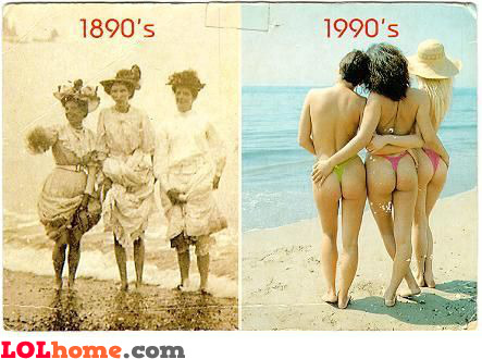 A century difference