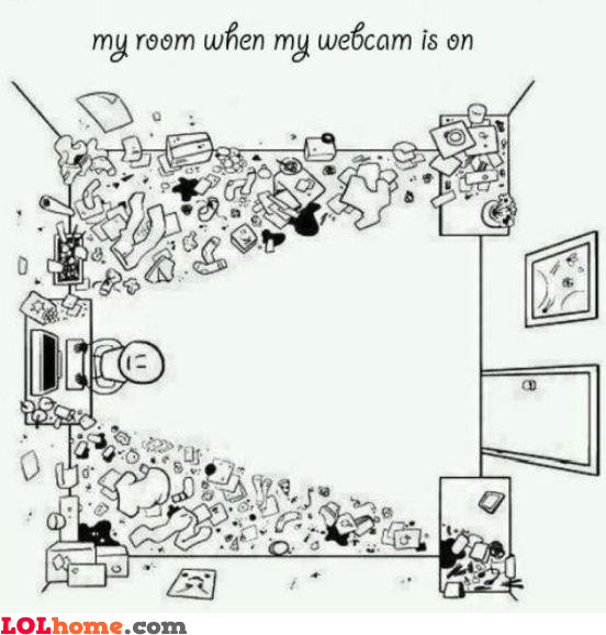 Webcam on