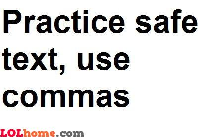Safe text