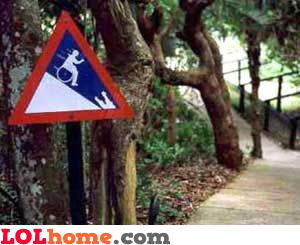 Sign for the handicapped