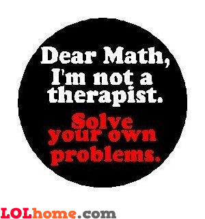 Message for Math