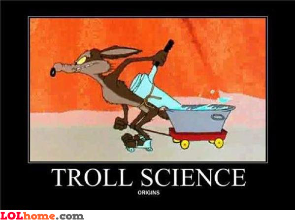 Troll science