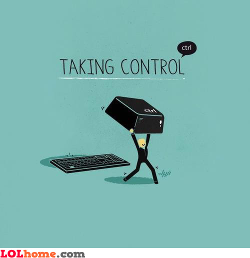 He took control