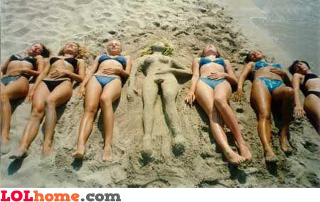 Sand babe