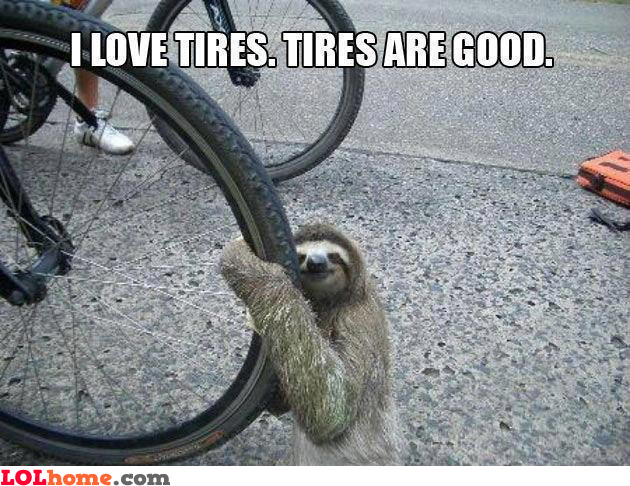 Tires are good