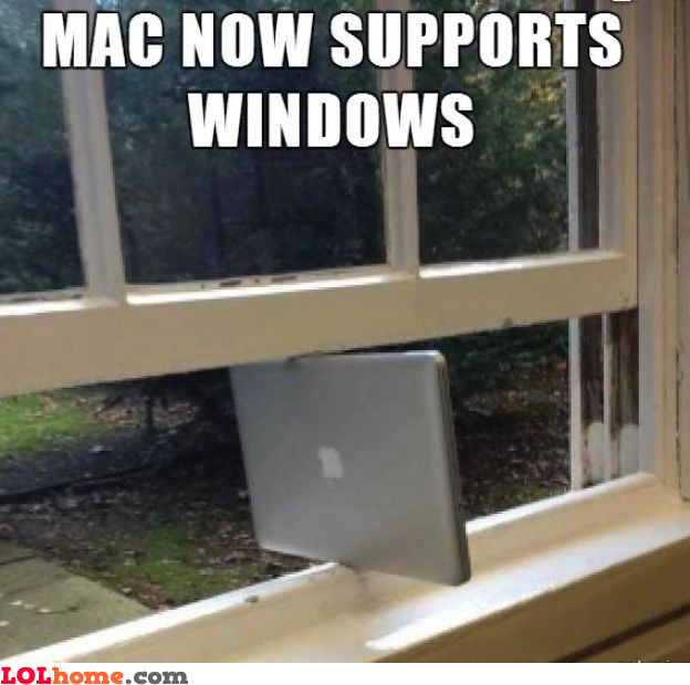 First Max supporting Windows