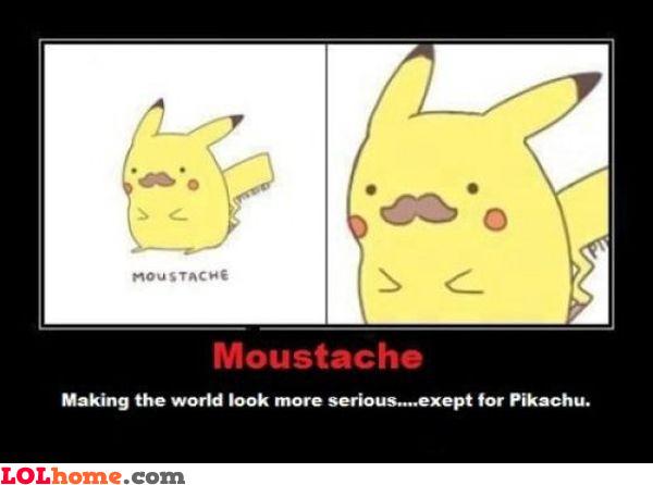 Moustache fact