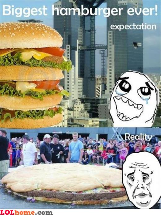 Biggest hamburger