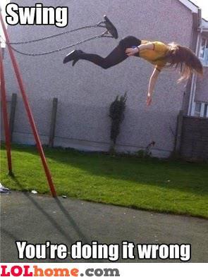 Swing fail
