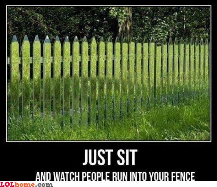 Ninja fence
