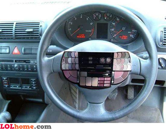 Steering wheel for women