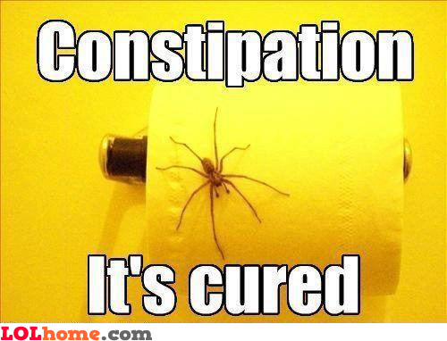 Constipation cured