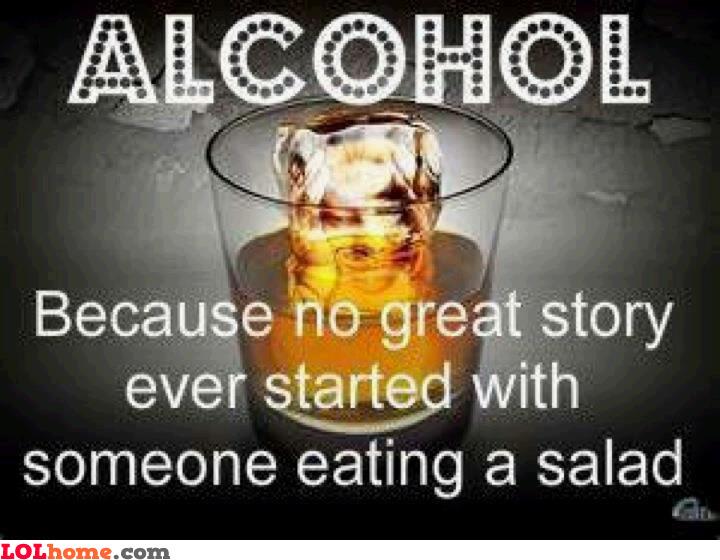 Alcohol benefit