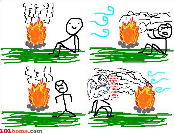 Fire trolling