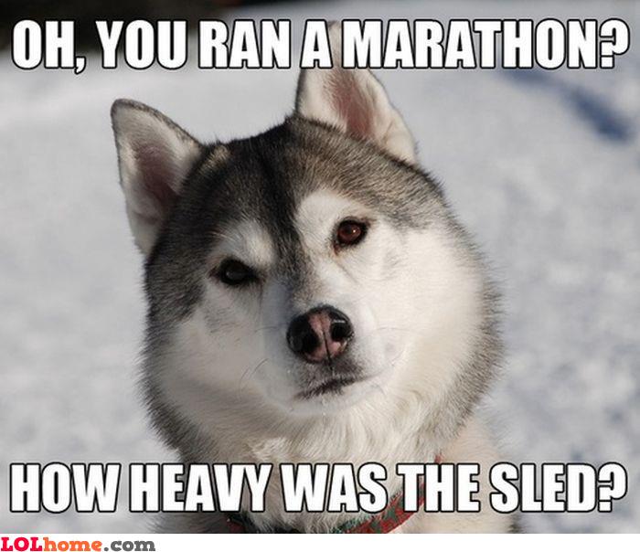 Husky's theory