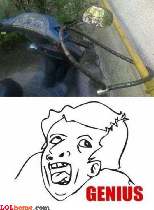 That's just brilliant!