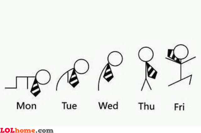 Week evolution