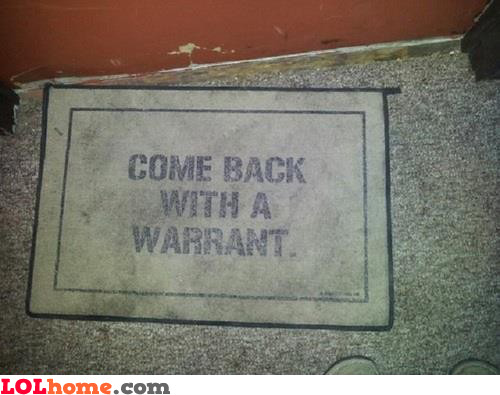 Awesome doormat