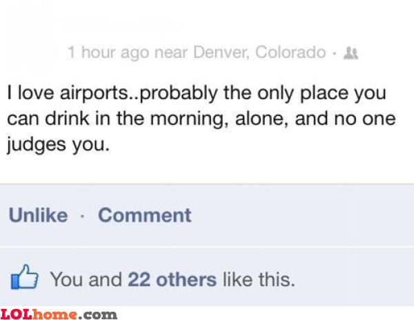Airport advantage