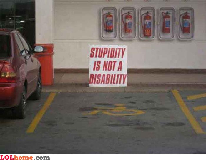 Stupidity fact