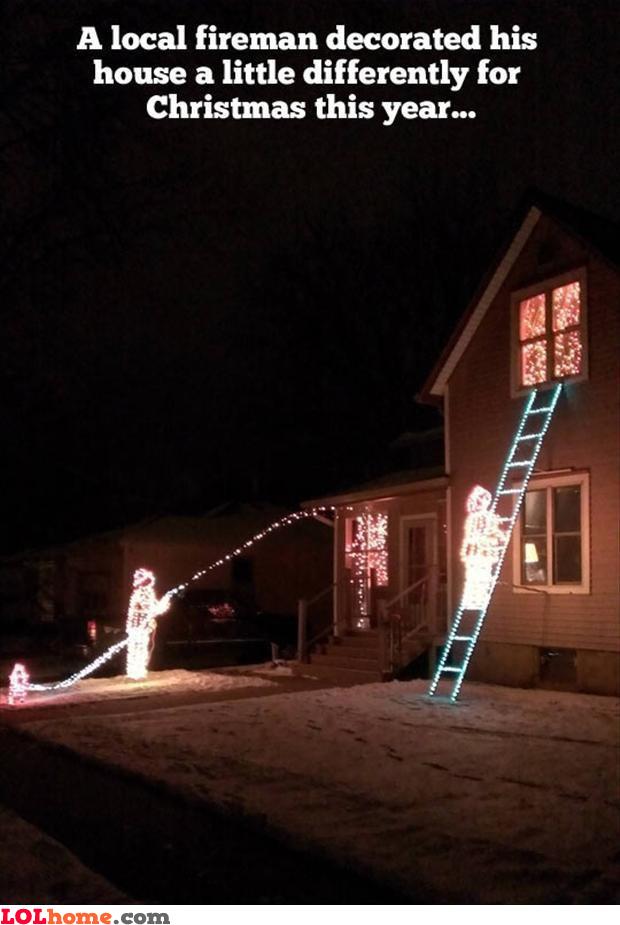 Fireman's Christmas