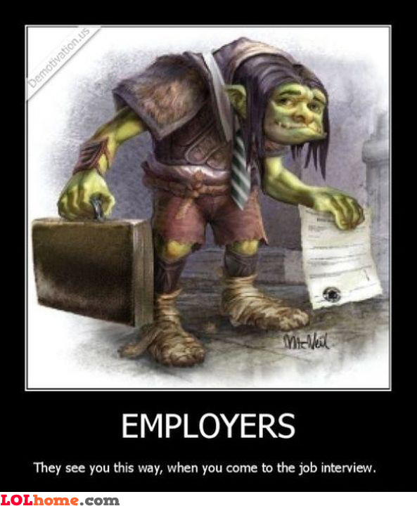 Employer's point of view