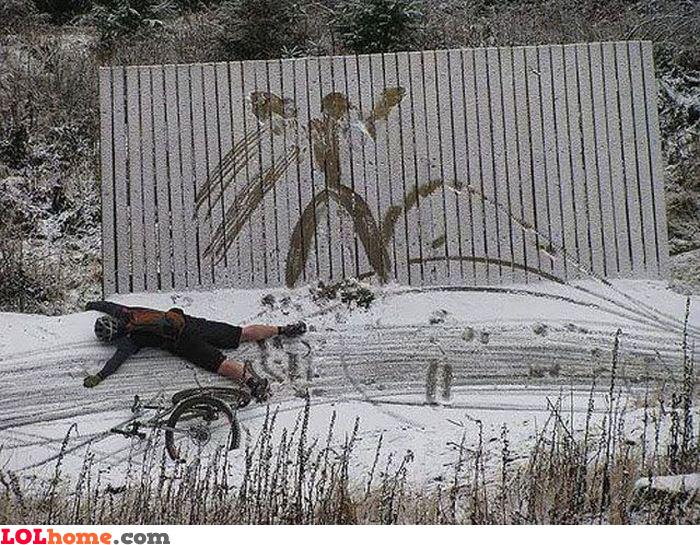 Snow hurts