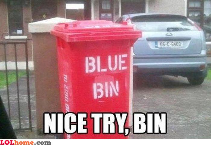 Bin lies