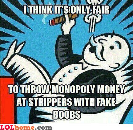 Monopoly trick