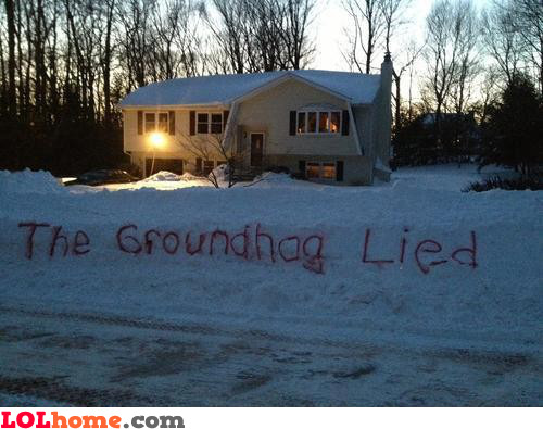 Groundhog lied