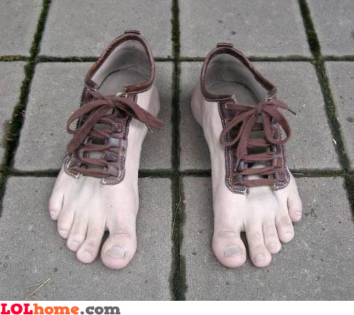 Ugliest shoes in the world