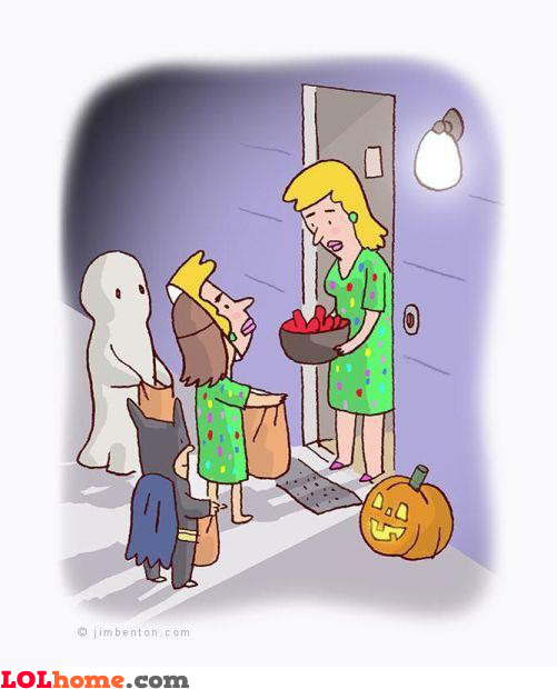 Trolling on Halloween