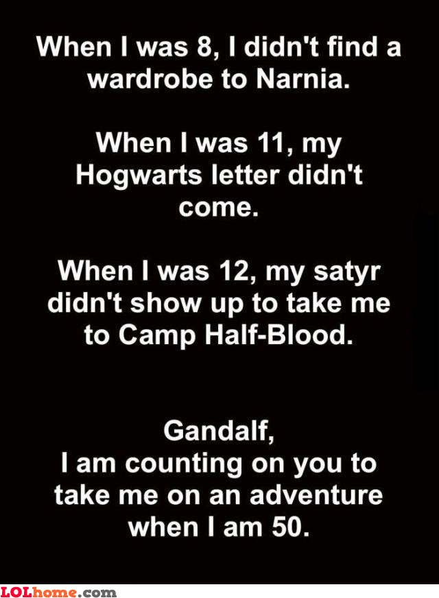 Counting on Gandalf