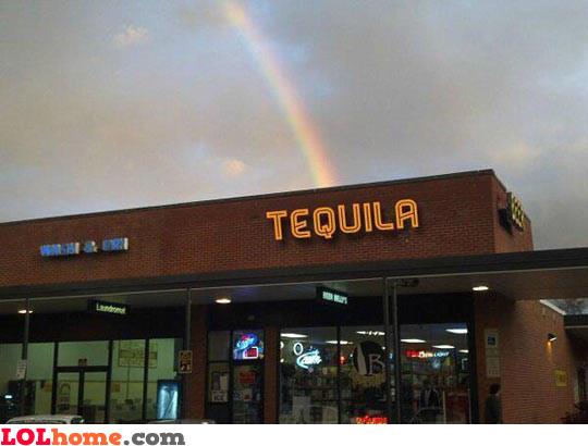 Tequila rainbow