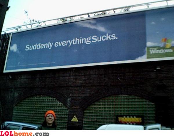Windows - suddenly everything sucks