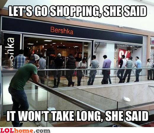 Shopping is a trap
