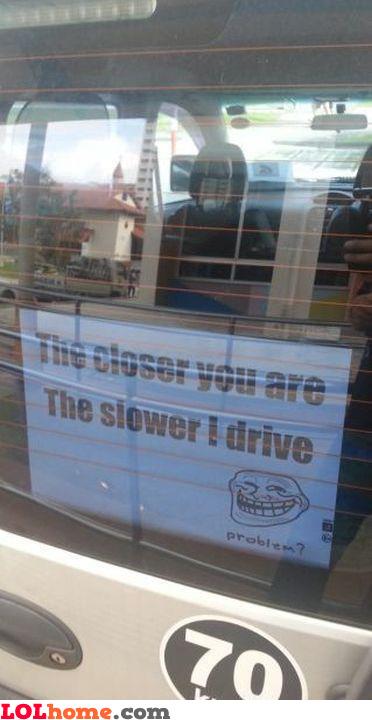 Driver win