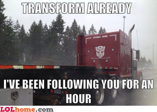 Well, transform