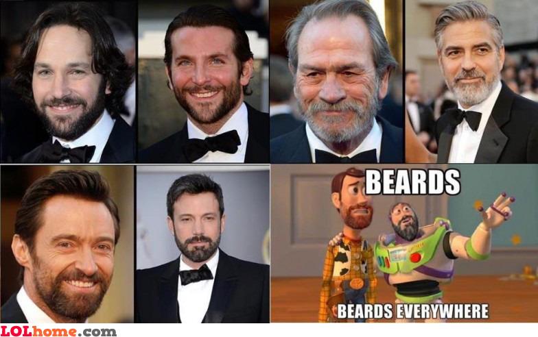 Beards everywhere